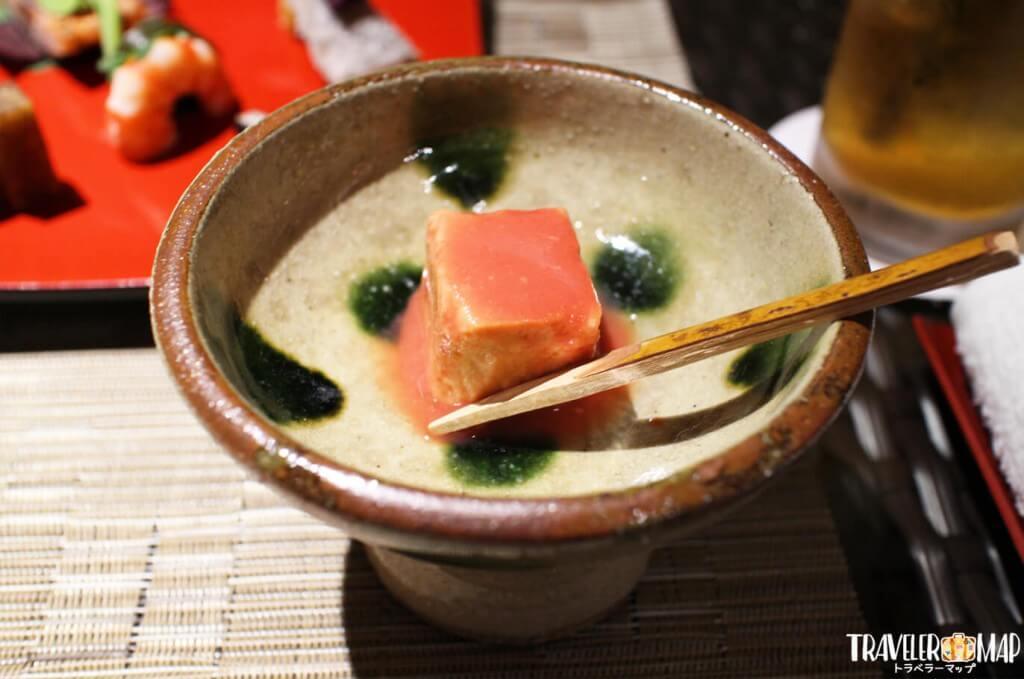 龍譚の豆腐よう