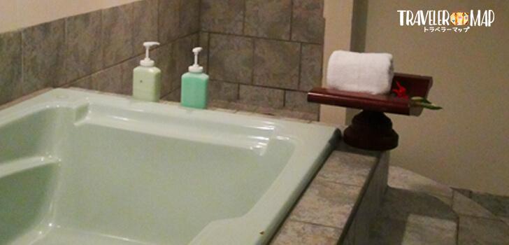 マンダラスパのお風呂