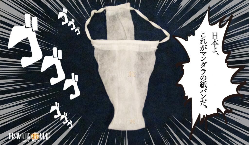 マンダラスパの紙パンツ