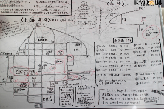小浜島マップ