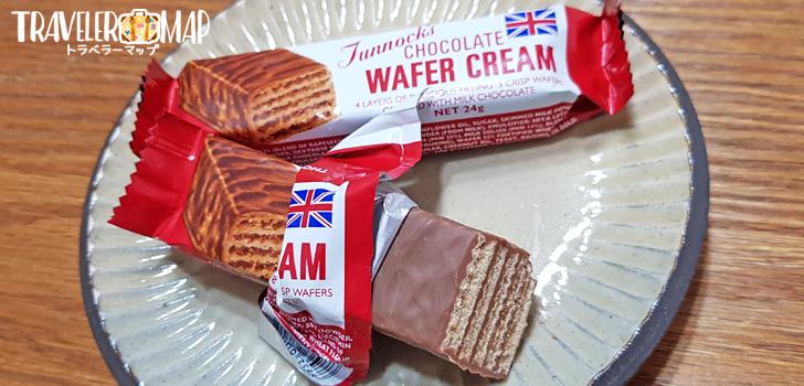 Tunnock's. CHOCOLAT WAFER CREAM