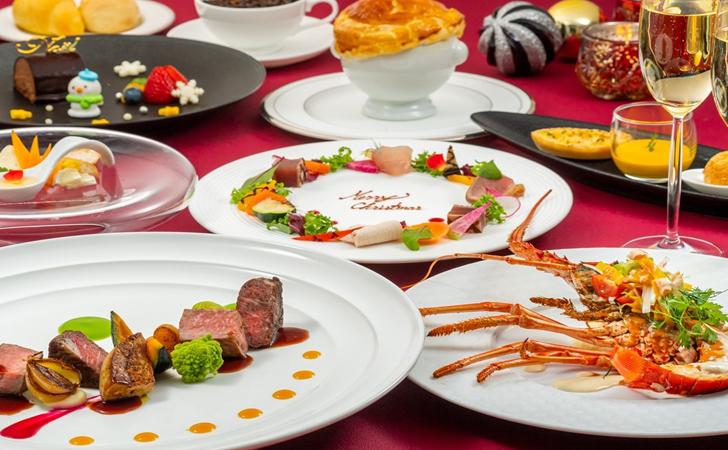 ホテルモントレ沖縄 スパ&リゾートのクリスマスディナー