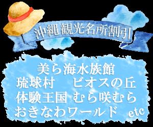 沖縄観光名所割引