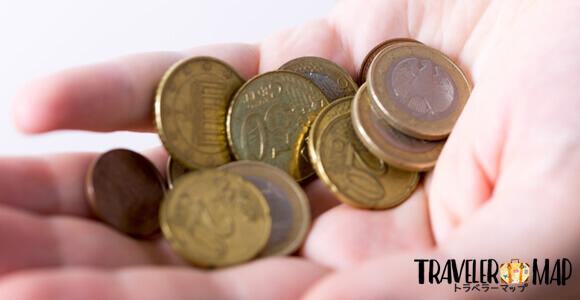 広く流通している硬貨