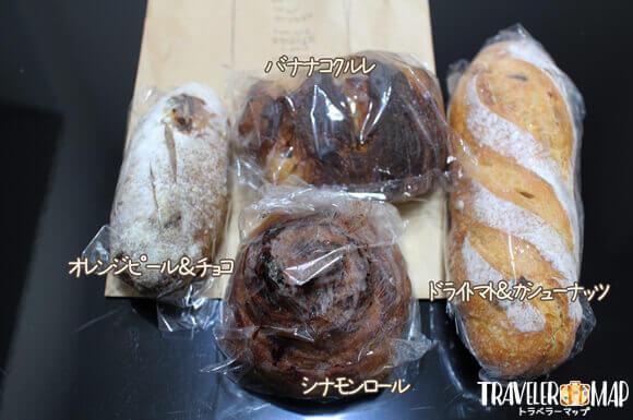 宗像堂で購入したパン