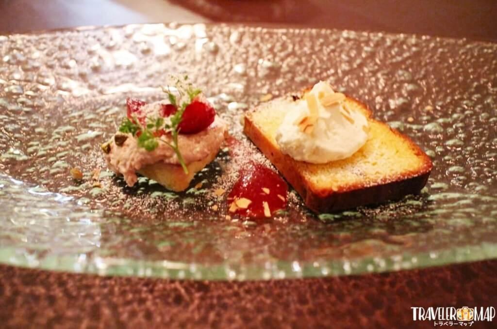 イタリア版プラムケーククラシコ(パウンドケーキ)&イチゴのティラミス
