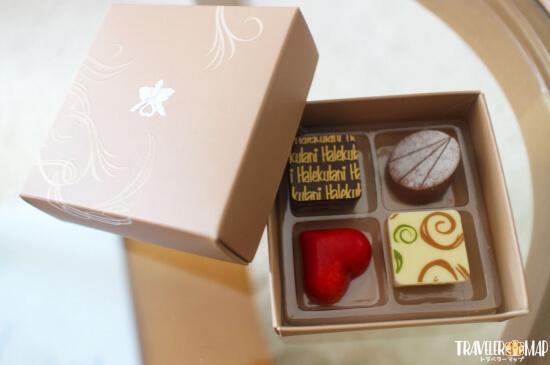 ハレクラニのチョコレート