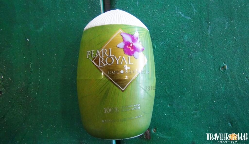 グアムにあるココナッツジュース