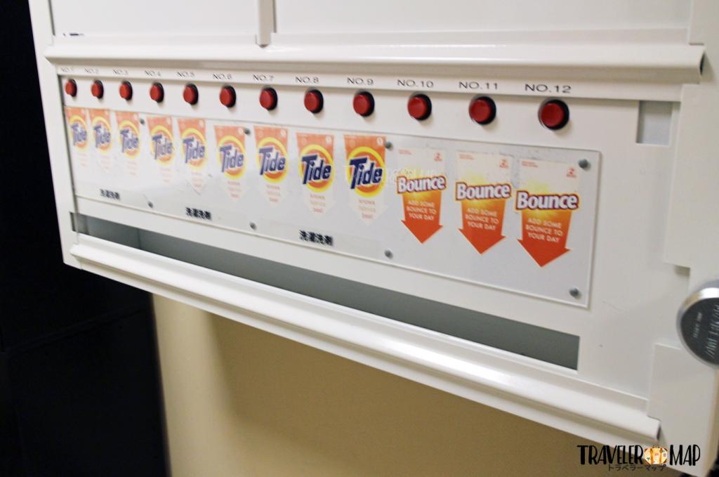 洗剤の自販機