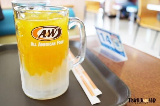 A&Wオレンジ
