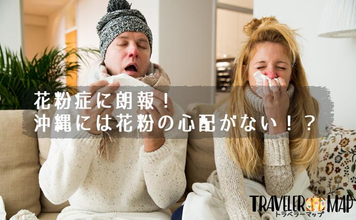 花粉症に朗報!沖縄には花粉の心配がない!?