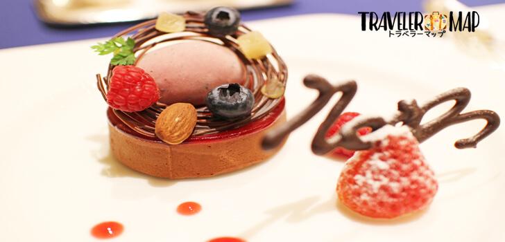アリビラのケーキ