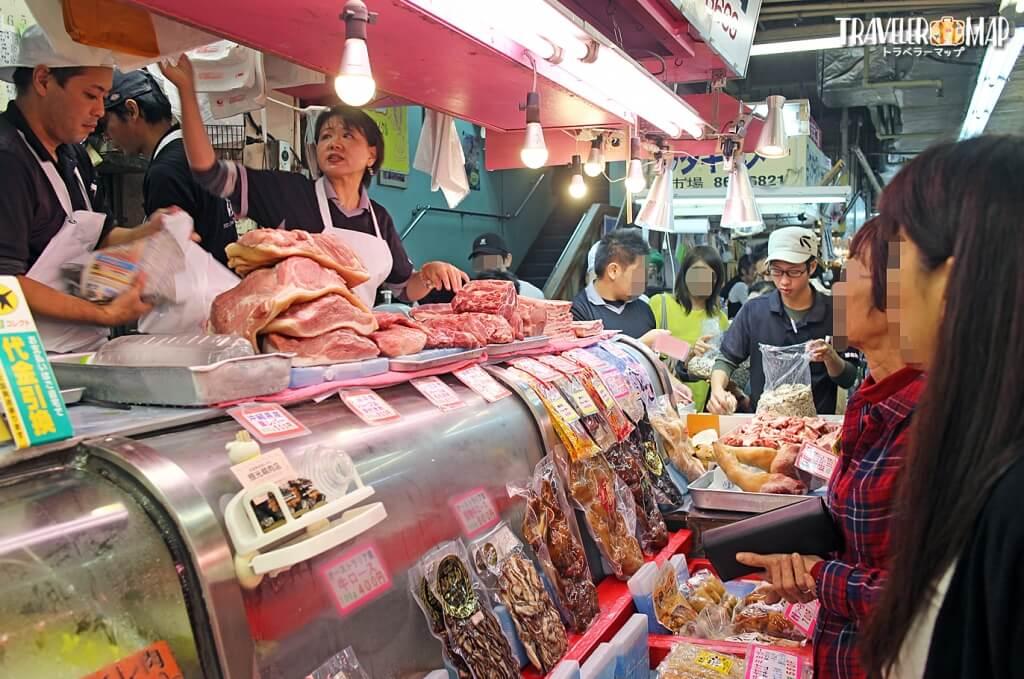 食肉コーナー