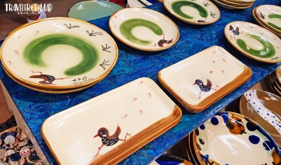 陶糸さんのヤンバルクイナ皿