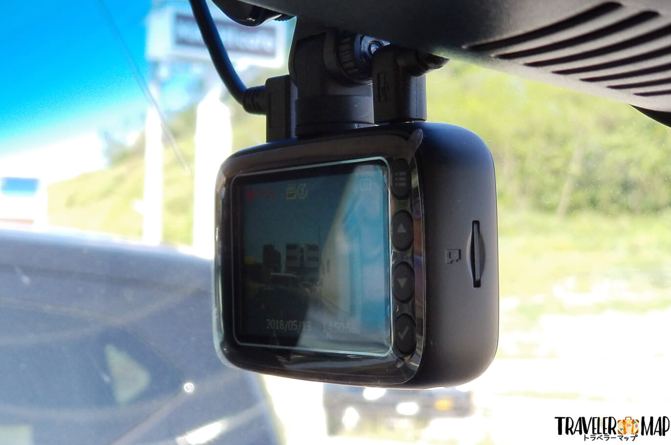 APEMAN C860 フロントカメラ
