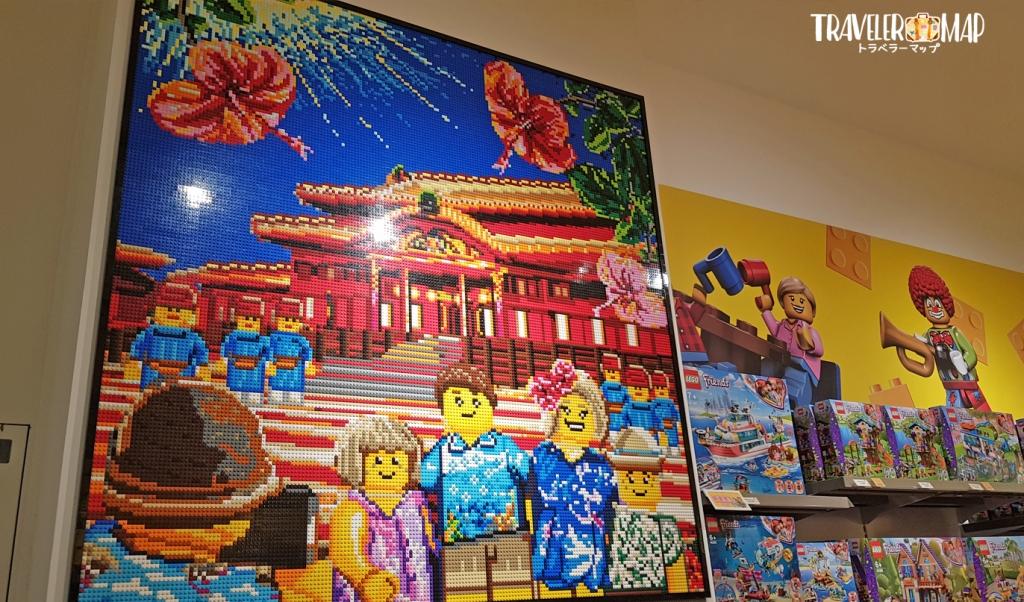 LEGOアート沖縄バージョン