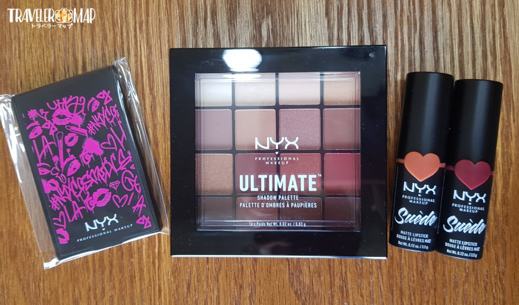 NYX購入品