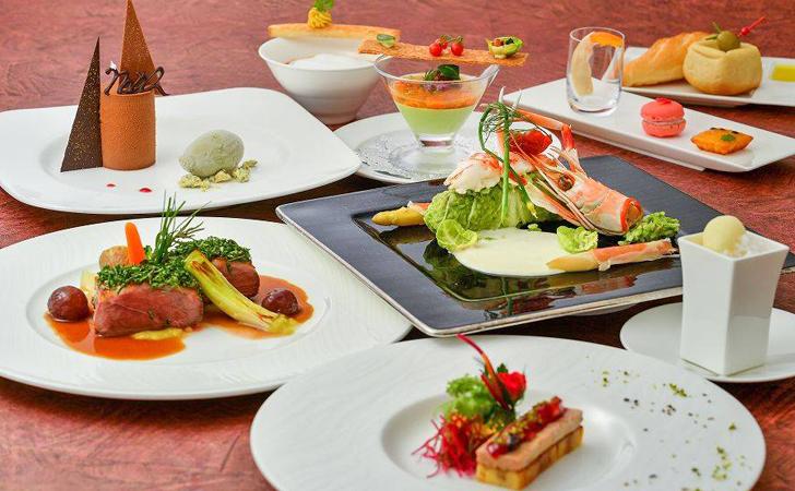ホテル日航アリビラのクリスマスディナー