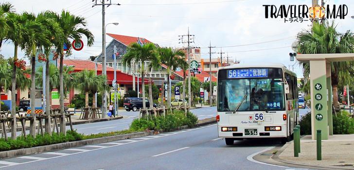 56番線のバス