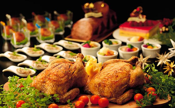 ザ・ブセナテラスのクリスマスディナービュッフェ
