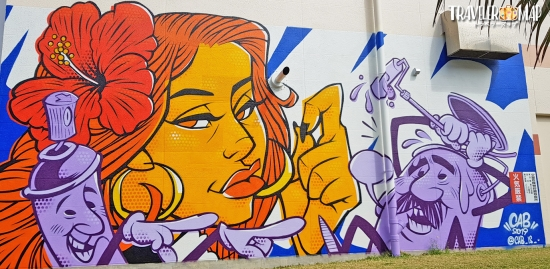 あしびなーの壁画アート