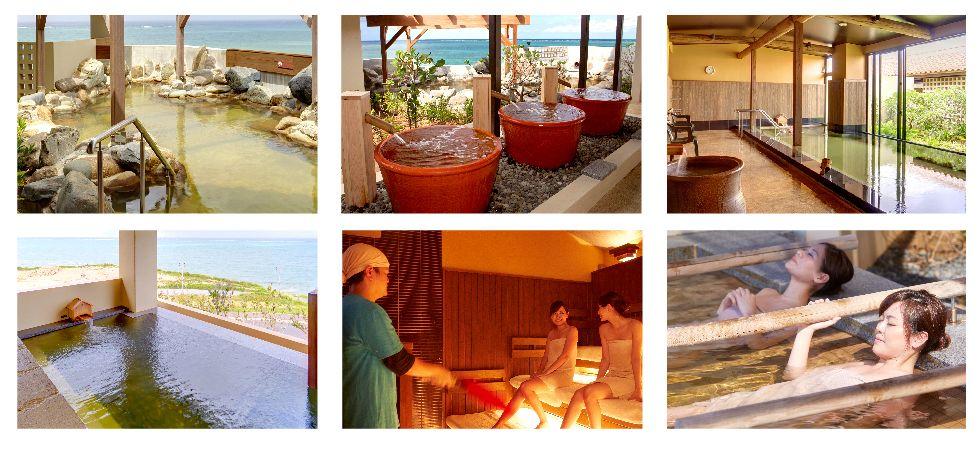 瀬長島ホテルの天然温泉