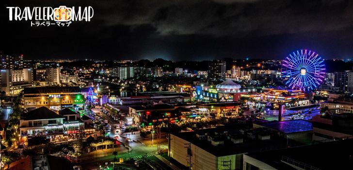 北谷の夜景