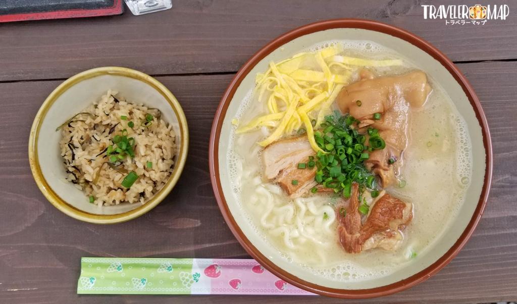 ちゅるげーそば(こってり・ちじれ麺)