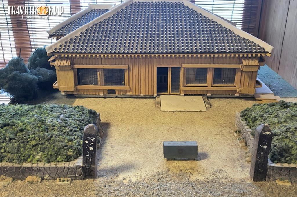 喜納番所の模型